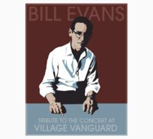 Bill Evans T-Shirt by Keith Henry Brown