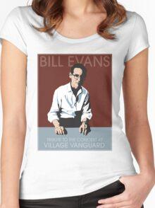 Bill Evans T-Shirt Women's Fitted Scoop T-Shirt