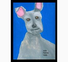 The Oil Pastel Scotty Dog by Julia Hanna T-Shirt