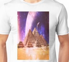 Space Pyramids Unisex T-Shirt