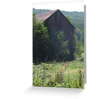 Barn in Virginia Greeting Card