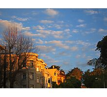 Pierce Street 6 am. Photographic Print