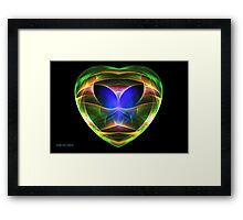 Alien Visitor Framed Print