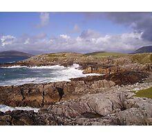 The Foaming Deep - Hebridean Seascape Photographic Print