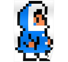 Popo Ice Climber Poster