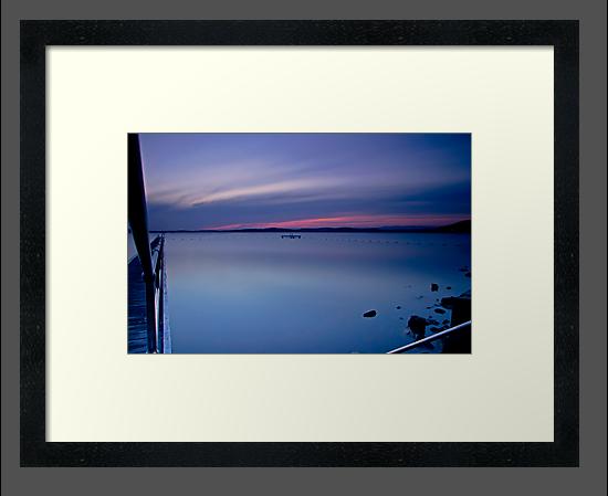 Last Light, Belmont Wharf by bazcelt