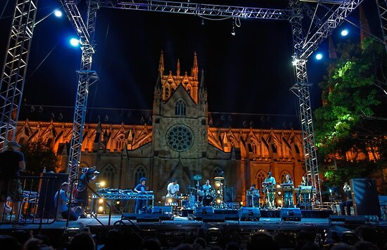 Sydney Festival First Night by Rod Kashubin