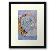 Yellow Brick Road Framed Print