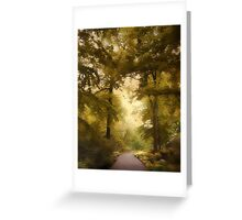 Woodland Passage Greeting Card