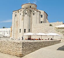 ancient stone monuments in Zadar 2 by Anne Scantlebury