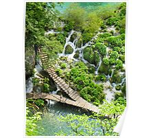 Plitvice Lakes in Croatia Poster