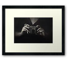 Retina Framed Print
