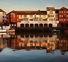 Maryport Harbour 2 by Jan Fialkowski