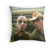 bad boys Throw Pillow