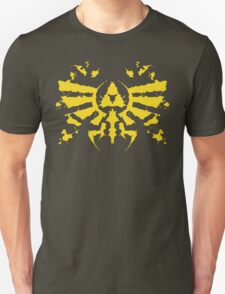 Hyrule Rorschach (gold) T-Shirt