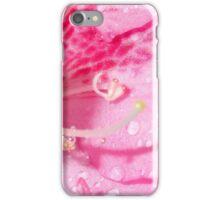 Pink Flower Close Up iPhone Case/Skin