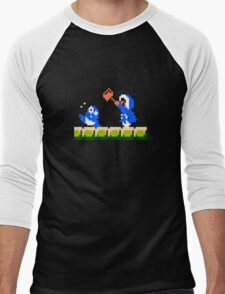 Ice Climber Hit Men's Baseball ¾ T-Shirt