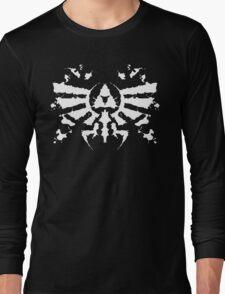 Hyrule Rorschach (white) Long Sleeve T-Shirt