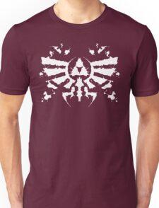 Hyrule Rorschach (white) Unisex T-Shirt