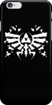 Hyrule Rorschach (white) by MightyRain