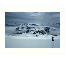 Mount Baker--WA Art Print