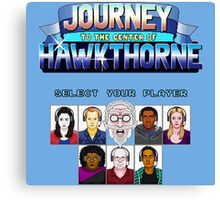 Select Your Player to Journey to the Center of Hawkthorne! Canvas Print