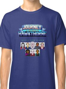 Select Your Player to Journey to the Center of Hawkthorne! Classic T-Shirt
