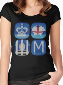 Moriarty. Women's Fitted Scoop T-Shirt