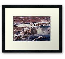 Waterfalls--Magic Valley, ID Framed Print