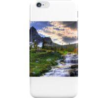 Montana Glacier National Park iPhone Case/Skin