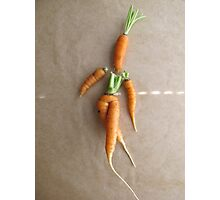 Playing With Vegetables : Photographic Print