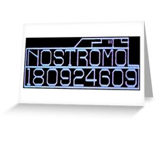 Commercial Towing Vehicle 'The Nostromo' Greeting Card
