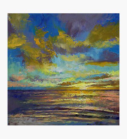 Sunset Key Largo Photographic Print