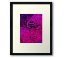 Flying Bumble Framed Print
