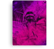 Flying Bumble Canvas Print