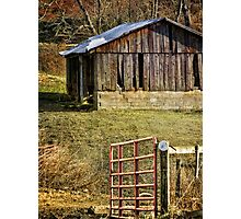 Come on in, gate's open Photographic Print