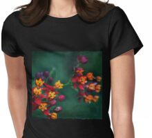 The World of Tiny Flowers Womens Fitted T-Shirt