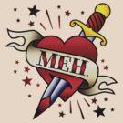 Meh Tattoo by DetourShirts