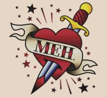 Meh Tattoo by DetourShirts
