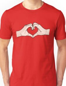 Heart Hands Unisex T-Shirt