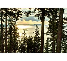 Gold on Bellingham Bay Photographic Print