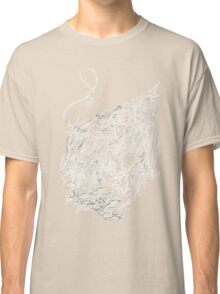 Psychedelic Raindrop  Classic T-Shirt