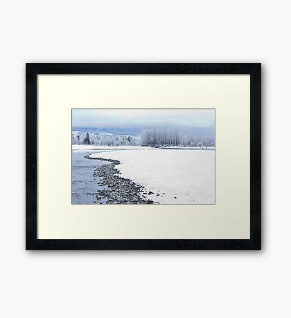 Skykomish River Framed Print