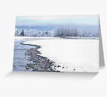Skykomish River Greeting Card