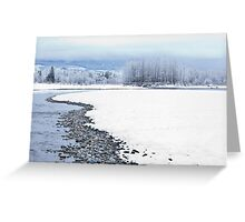 Skykomish River Greeting Card