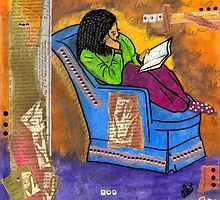 The Reader by © Angela L Walker