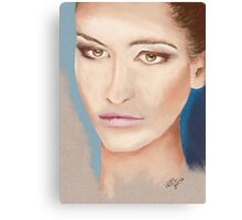 I'm so bored with being beautiful Canvas Print