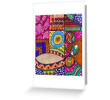 Where The Drum Maker Lives Greeting Card