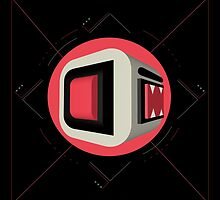 "6.29.13. | [Day 191] - ""Fired-up cubebaboobs 460.85"" by Switzon S. Wigfall, III"