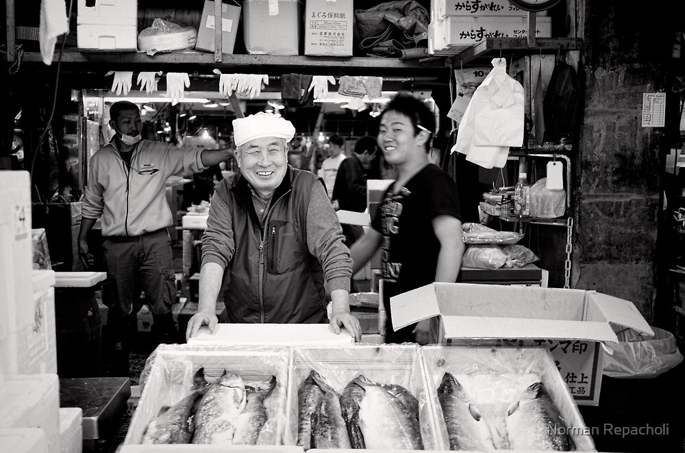 A smile is the same in any language - Japan by Norman Repacholi